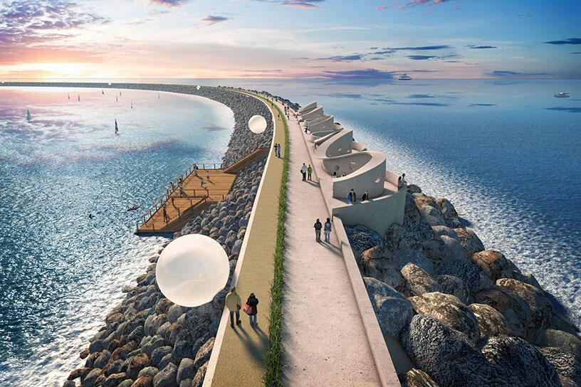 Swansea Tidal Lagoon design