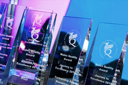 Wales Quality awards on display