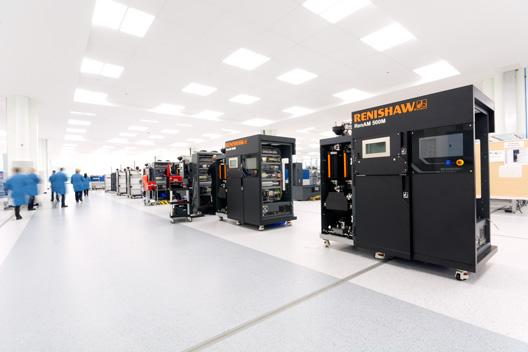 Renishaw AM500 production line