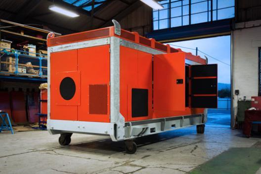 Custom Industrial Enclosures for Pumps & Gensets - Amcanu