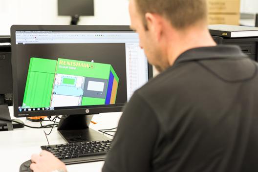 Renishaw CAD system